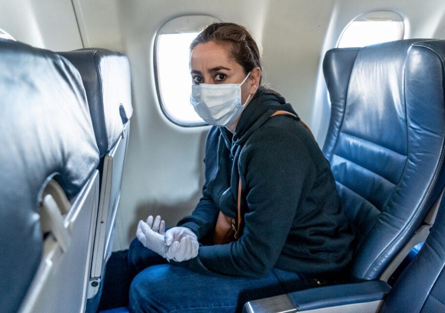 coronavírus pode durar horas no ar