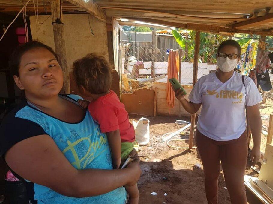ação da Cufa ajuda mães nas favelas