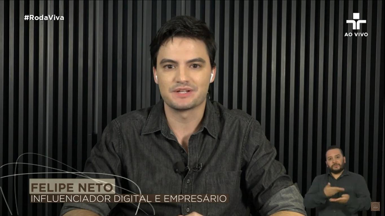 Felipe Neto no Roda Viva: 'me arrependo de ter apoiado o golpe'