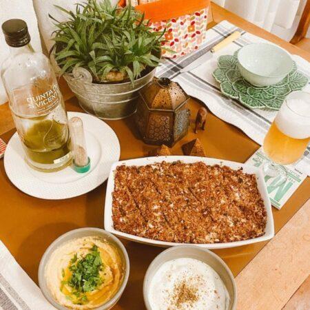 jantar árabe mala de aventuras
