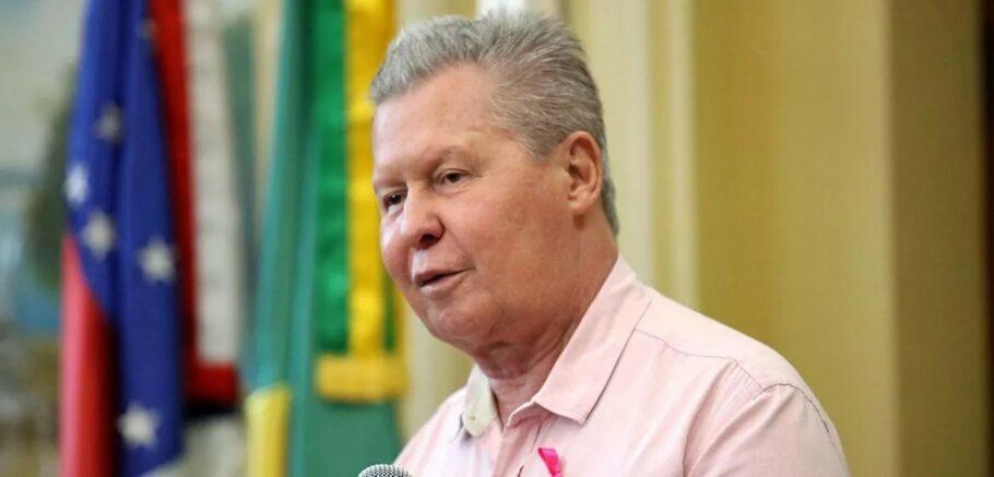 Prefeito de Manaus, Arthur Virgílio Neto, 74 anos, testou positivo para covid-19
