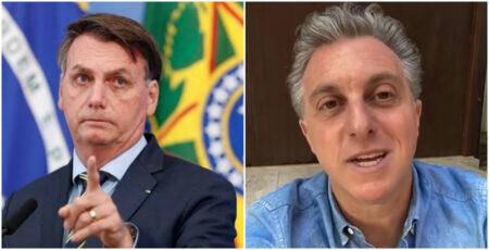 Luciano Huck ataca gestão Bolsonaro no combate à covid-19