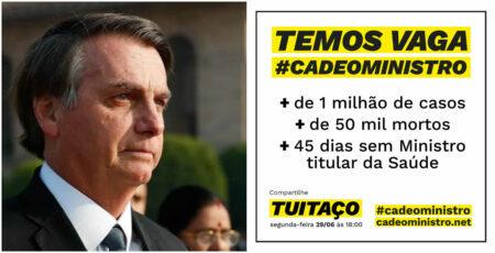 bolsonaro cade o ministro