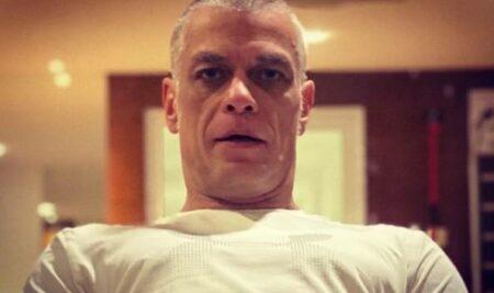 Fabio Assunção mudou o visual e tem praticado exercícios com frequência