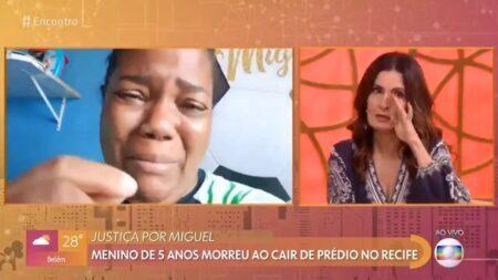 Mirtes Renata Souza e Fátima Bernardes