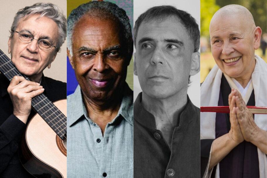 Caetano, Gil, Arnaldo Antunes e Monja Coen são alguns dos convidados do Festival da Terra