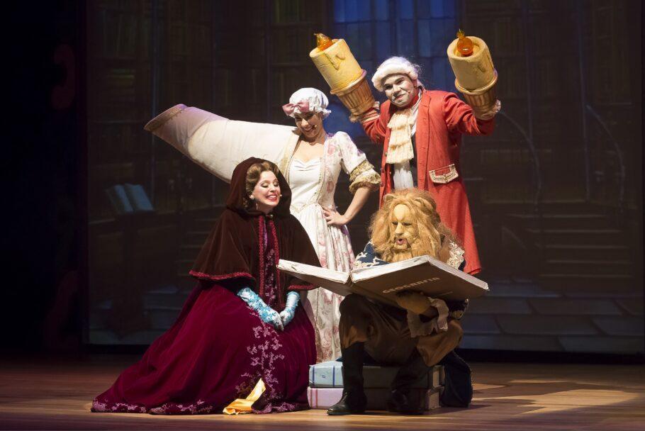 """""""A Bela e a Fera – Pocket Show"""" conta essa fábula francesa do século 18 com muita música e interação com o público"""