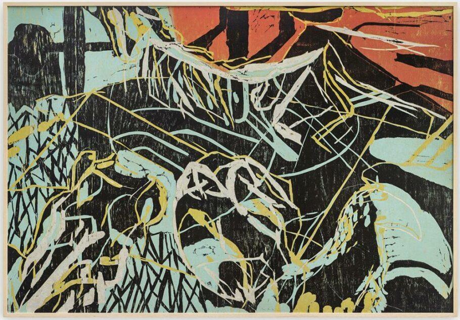 """Obra da série """"Pantaneiras #2"""", de Fabricio Lopez"""