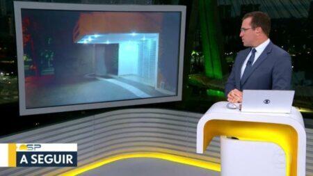 Rodrigo Bocardi entrou no modo John Travolta e caçou o repórter ao vivo