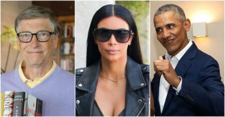Obama Kim Kardashian Bill Gates
