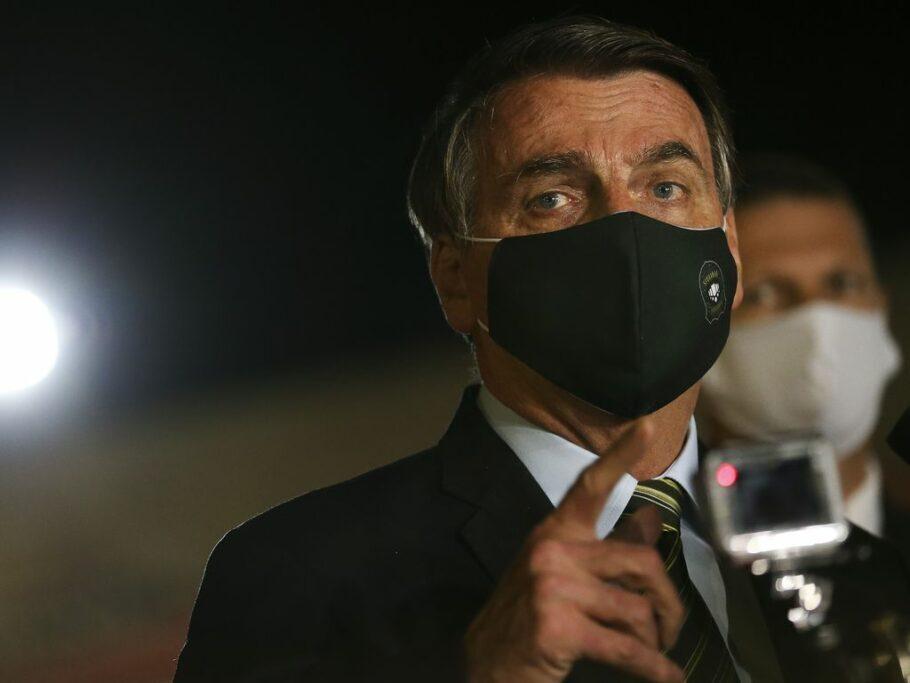 bolsonaro veta uso de máscara obrigatório