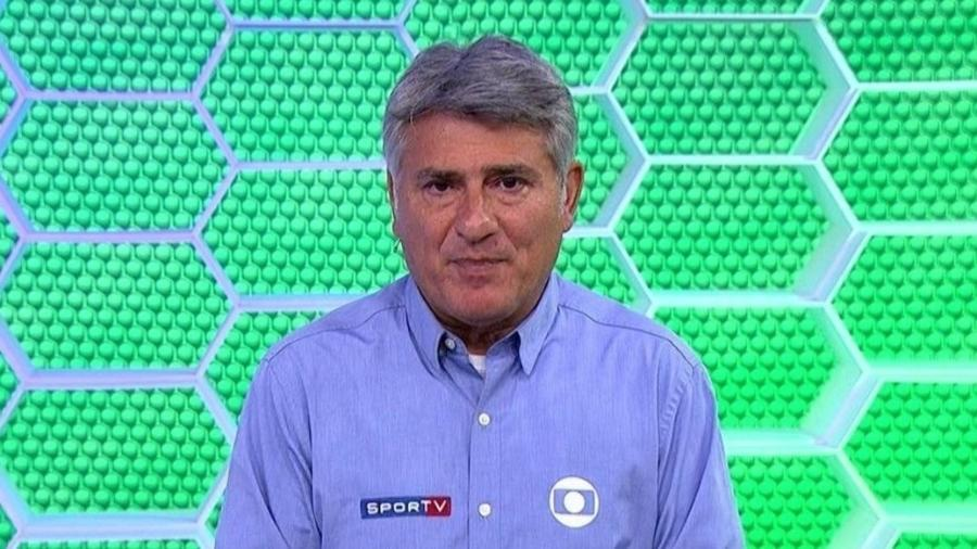 Cléber Machado, narrador da TV Globo