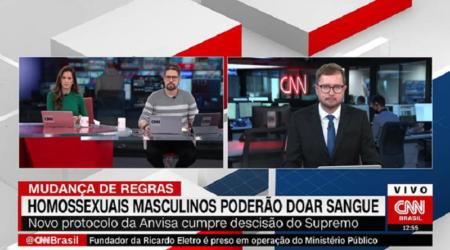 Jornalista da CNN é detonado ao distorcer pesquisa sobre gays e HIV