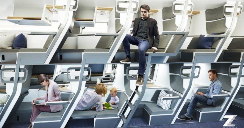 aviões beliche pandemia