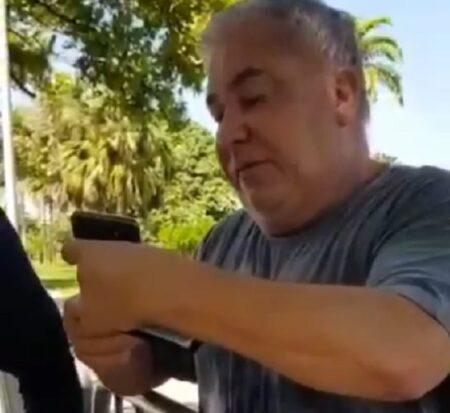 Em segundo vídeo, desembargador aparece intimidando um guarda