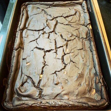 Brownie vegano de chocolate incrivelmente gostoso