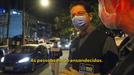 """""""Quem está errado que fique nervoso"""", diz fiscal após ataque viralizar"""