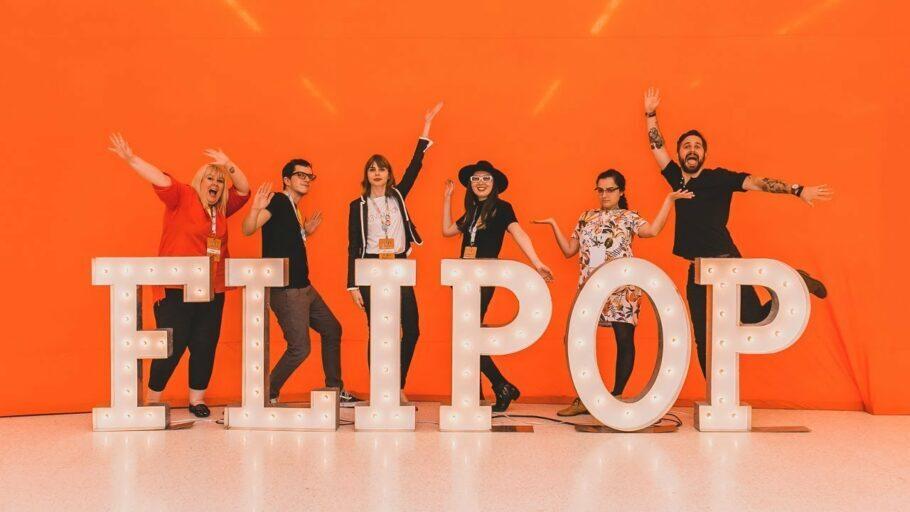 FLIPOP foi idealizado pela Editora Seguinte em 2017, mas já conta com a parceria de diversas outras