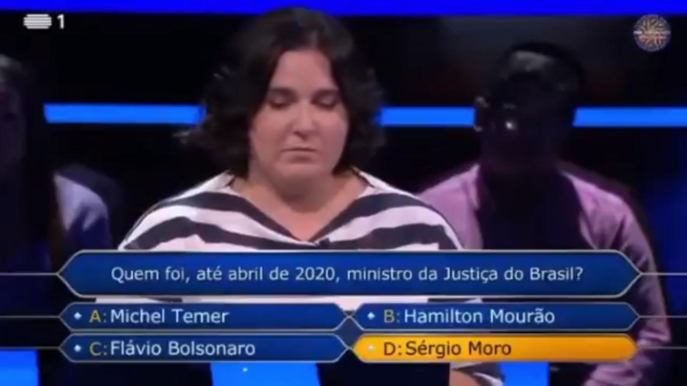 Mulher pede 'Fora Bolsonaro' em programa de TV em Portugal e web pira – Catraca Livre