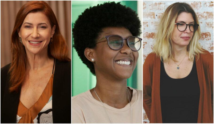 Patrícia Monteiro, Nohoa Arcanjo e Laura Kroeff