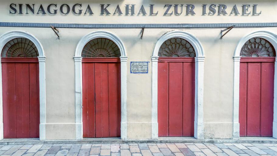 """A sinagoga Kahal Zur Israel"""" é a mais antiga das Américas"""