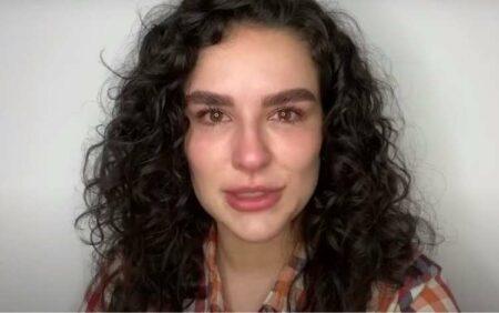 Ao anunciar o fim do canal, Kéfera não conteve as lágriimas