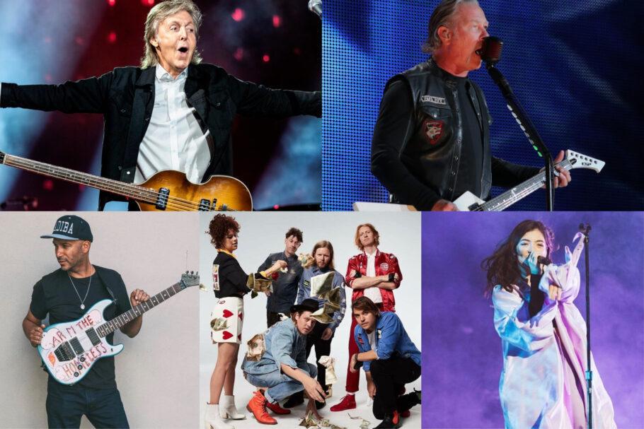 Lollapalooza online - Paul McCartney, Metallica, Arcade Fire, Tom Morello, Lorde