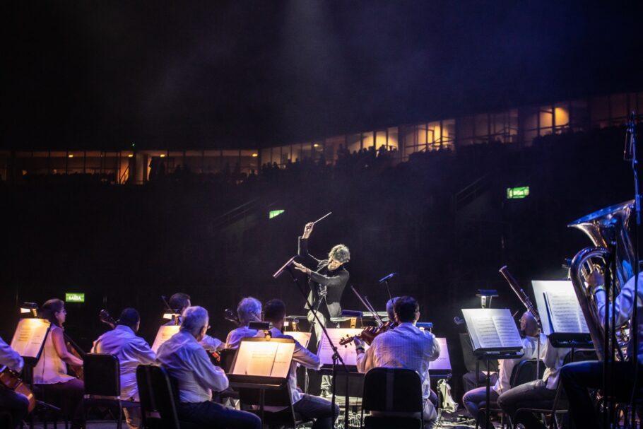 Orquestra Petrobras Sinfônica concerto drive-in