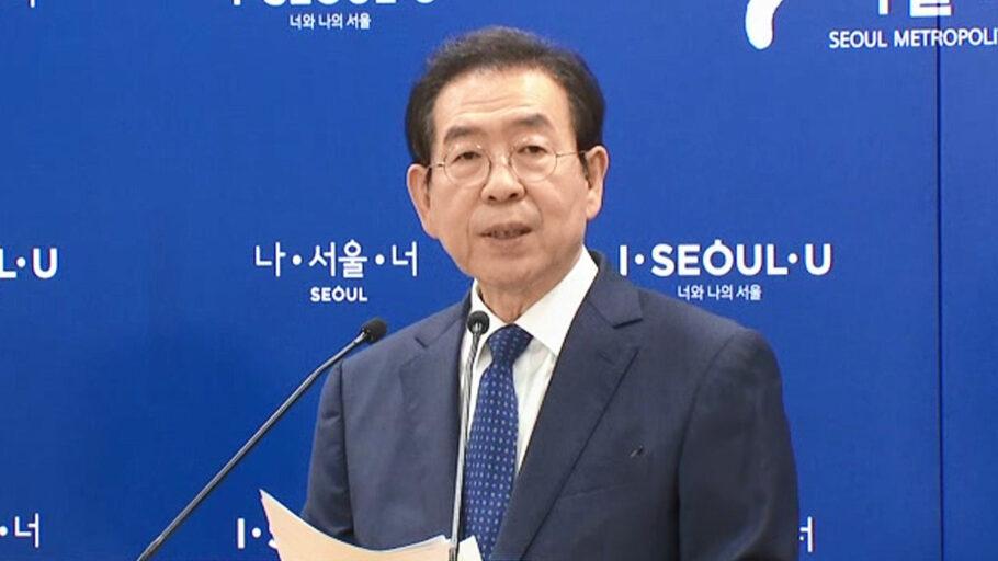 Prefeito de Seul, Park Won-soon, foi encontrado morto em parque da cidade