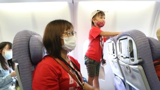 Passageiros sentem novamente o gostinho de viajar
