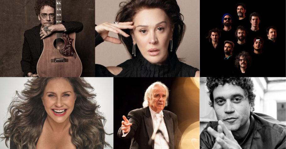 Nando Reis, Cláudia Raia, Fafá de Belém, João Carlos Martins, Bixiga 70 e Lirinha - Teatro Sérgio Cardoso