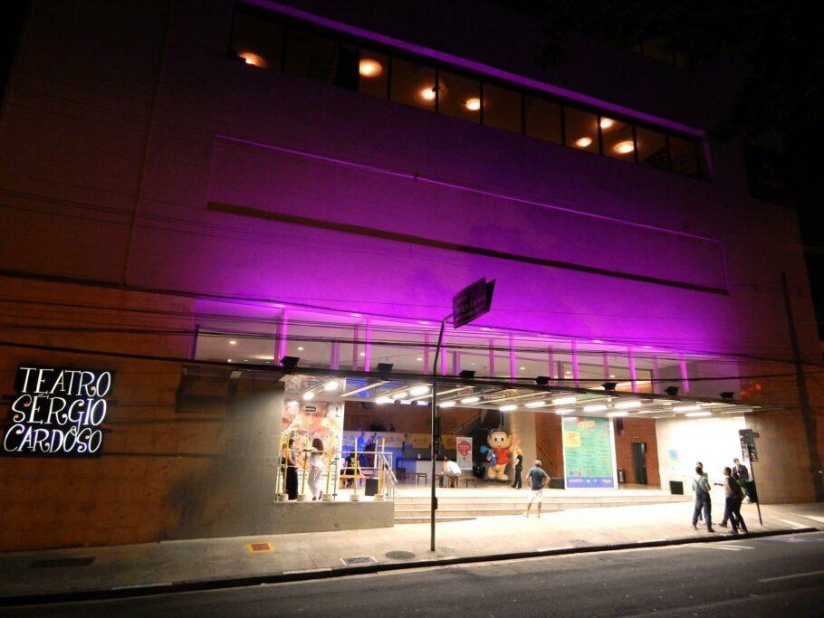 Teatro Sérgio Cardoso completa seus 40 anos no dia 13 de outubro