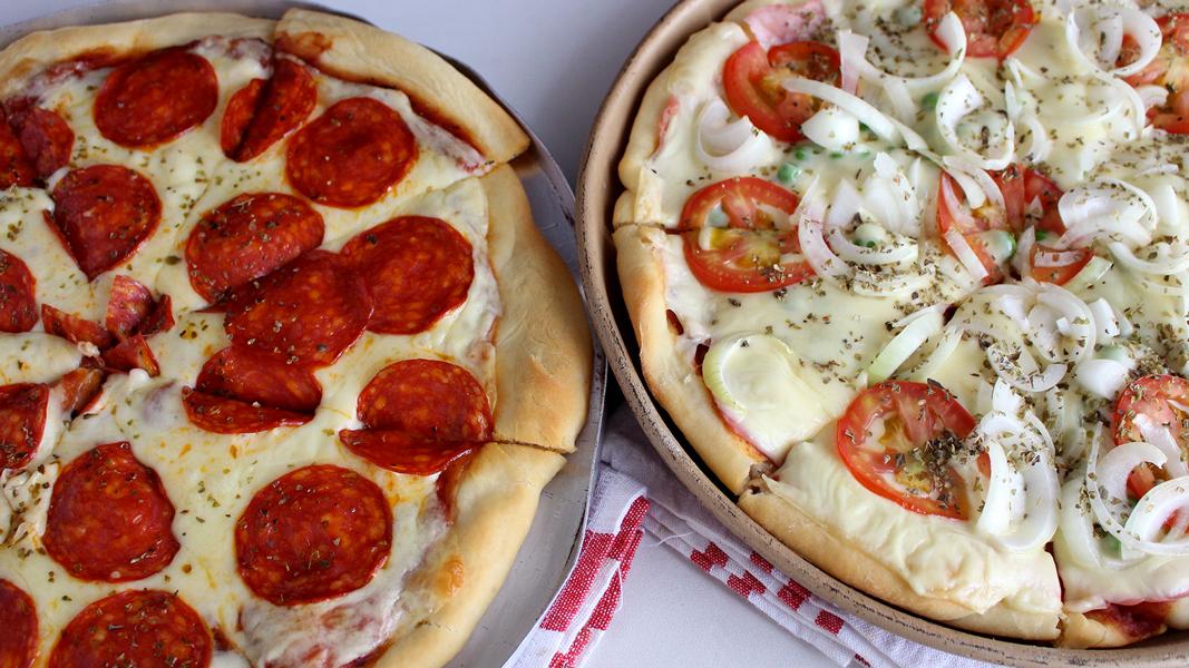 Pizza caseira sem erros