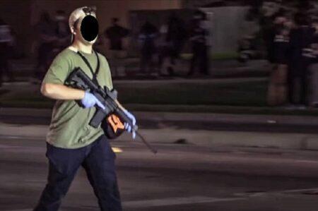 atirador protesto eua