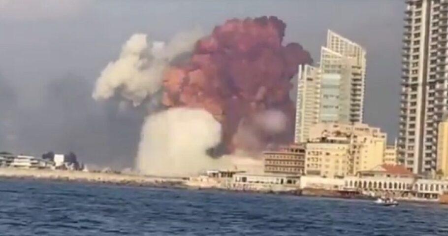 Nitrato de amônio pode ter causado explosão em Beirute