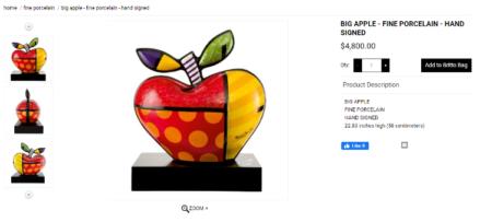 A 'Big Apple' à venda