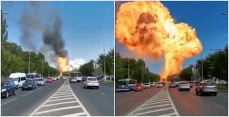 explosão rússia