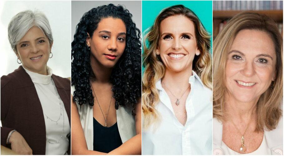 Maria Susana de Souza, Fátima Mira, Mariana Ferrão e Mariângela Savóia