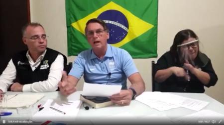 bolsonaro vacina cloroquina