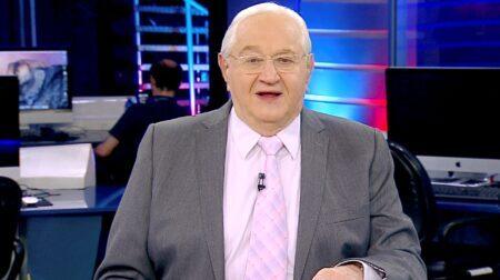 Boris Casoy é demitido da RedeTV! aos 79 anos