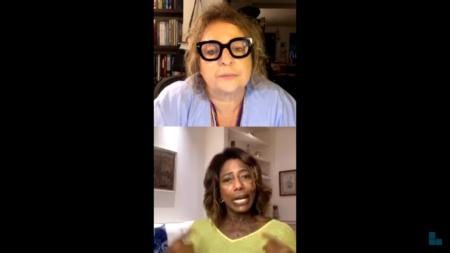 Joyce Pascowitch e Glória Maria
