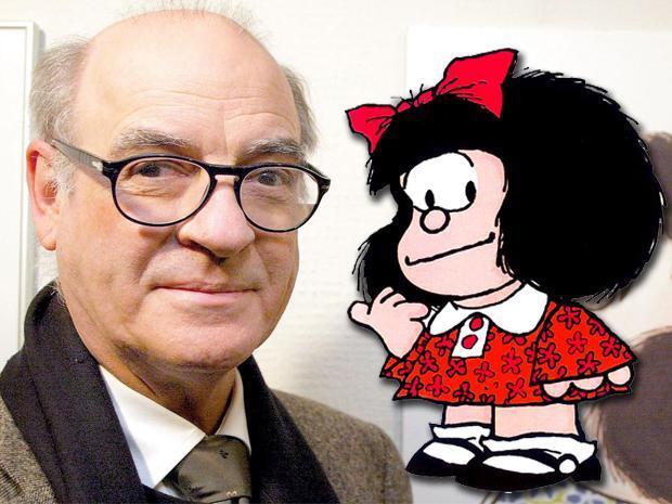 Morre o cartunista argentino Quino, criador de Mafalda