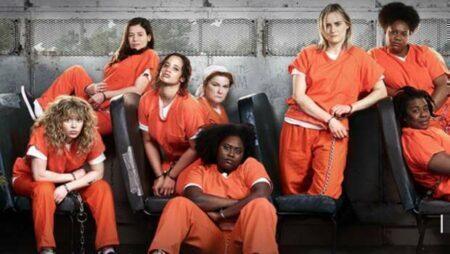 Na série Orange Is The New Black contém cena de violência contra a mulher