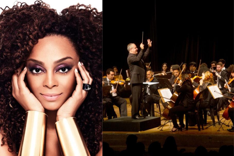 Orquestra Sinfônica de Heliópolis e Paula Lima - concerto online