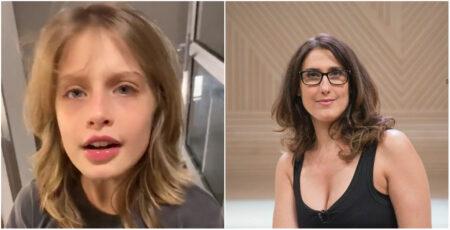 Paola Carosella mostra filha em vídeo no Twitter