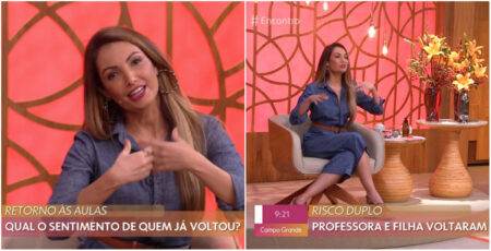"""Patrícia Poeta é escalada às pressas para substituir Fátima Bernardes no """"Encontro"""""""