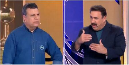 Ratinho comenta jogo da Libertadores no SBT e vira piada na internet