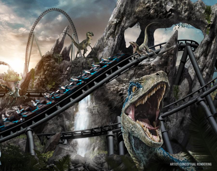 Universal Orlando Resort-Jurassic World VelociCoaster