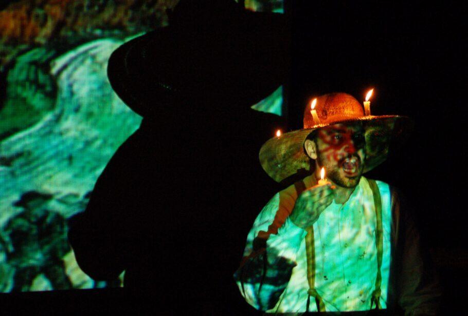 peça Vincent Van Gogh - Teatro #EmCasaComSesc