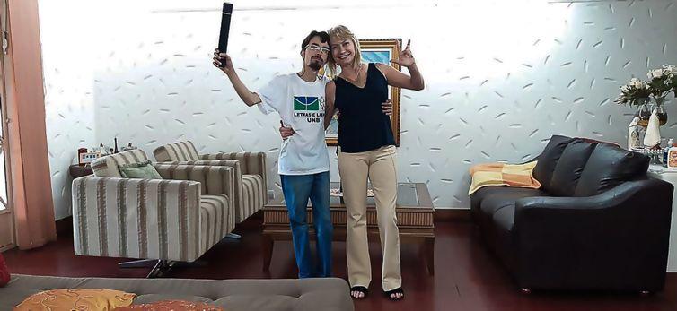 Iury Moraes é o primeiro estudante da Universidade de Brasília surdo e cego a se formar num curso de graduação.